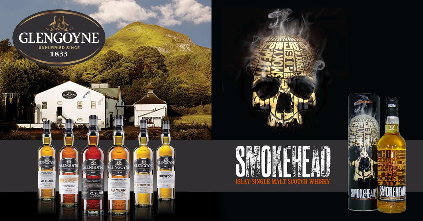 De Monnik Dranken nieuwe importeur van Glengoyne en Smokehead
