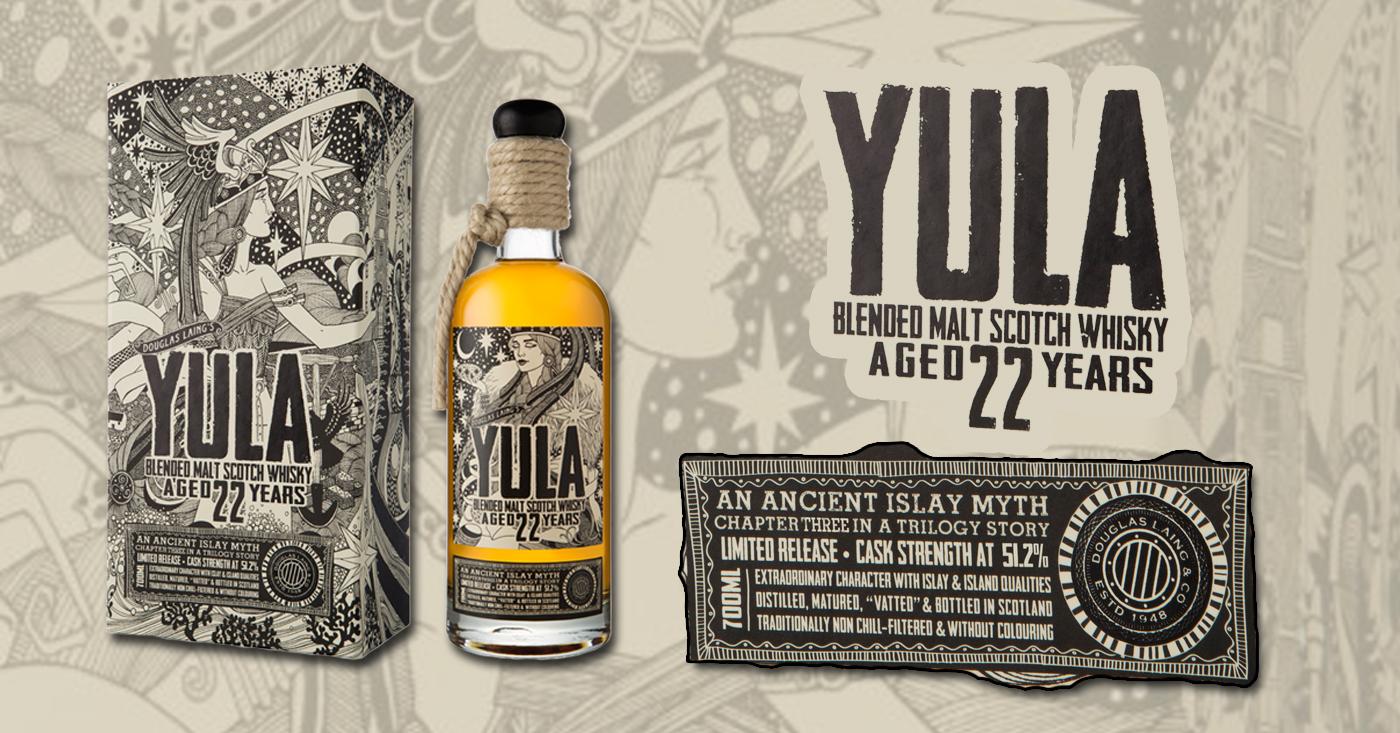 Douglas Laing lanceert de zeer gelimiteerde Yula 22 Years Old Island Malt Scotch Whisky
