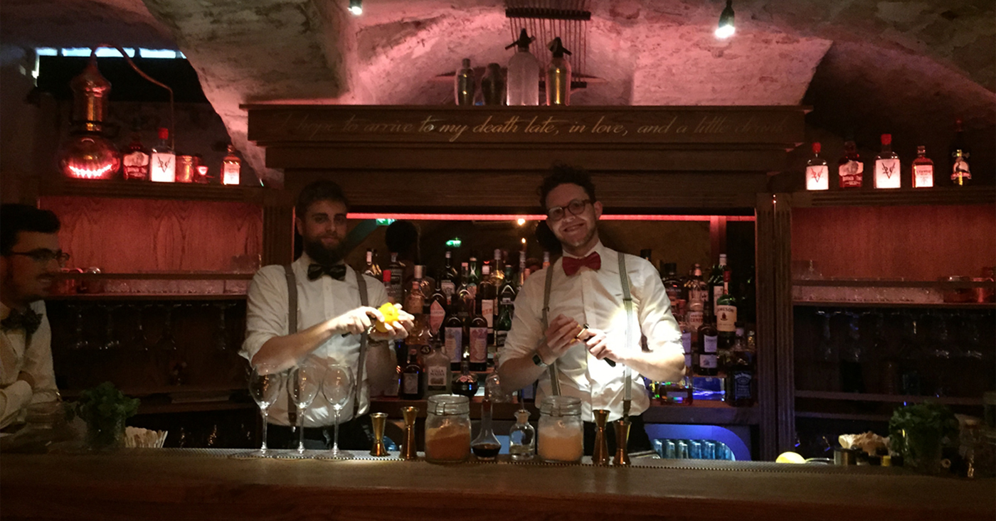 Pravda Vodka en Buffalo Trace op netwerkborrel bij cocktailbar Mr. Smith in Maastricht