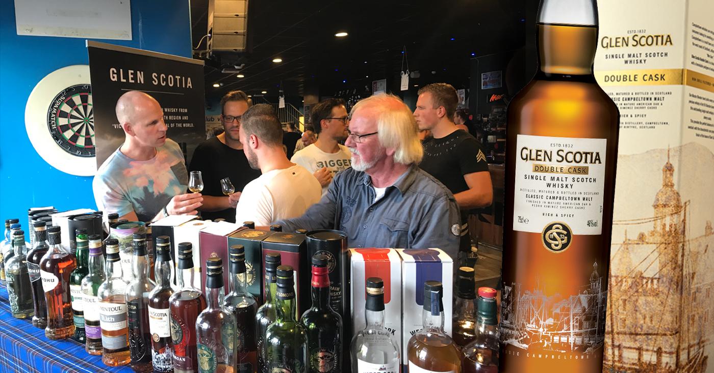 Glen Scotia Double Cask bevalt jong en oud op whisky event Mitra Assendorp in Zwolle