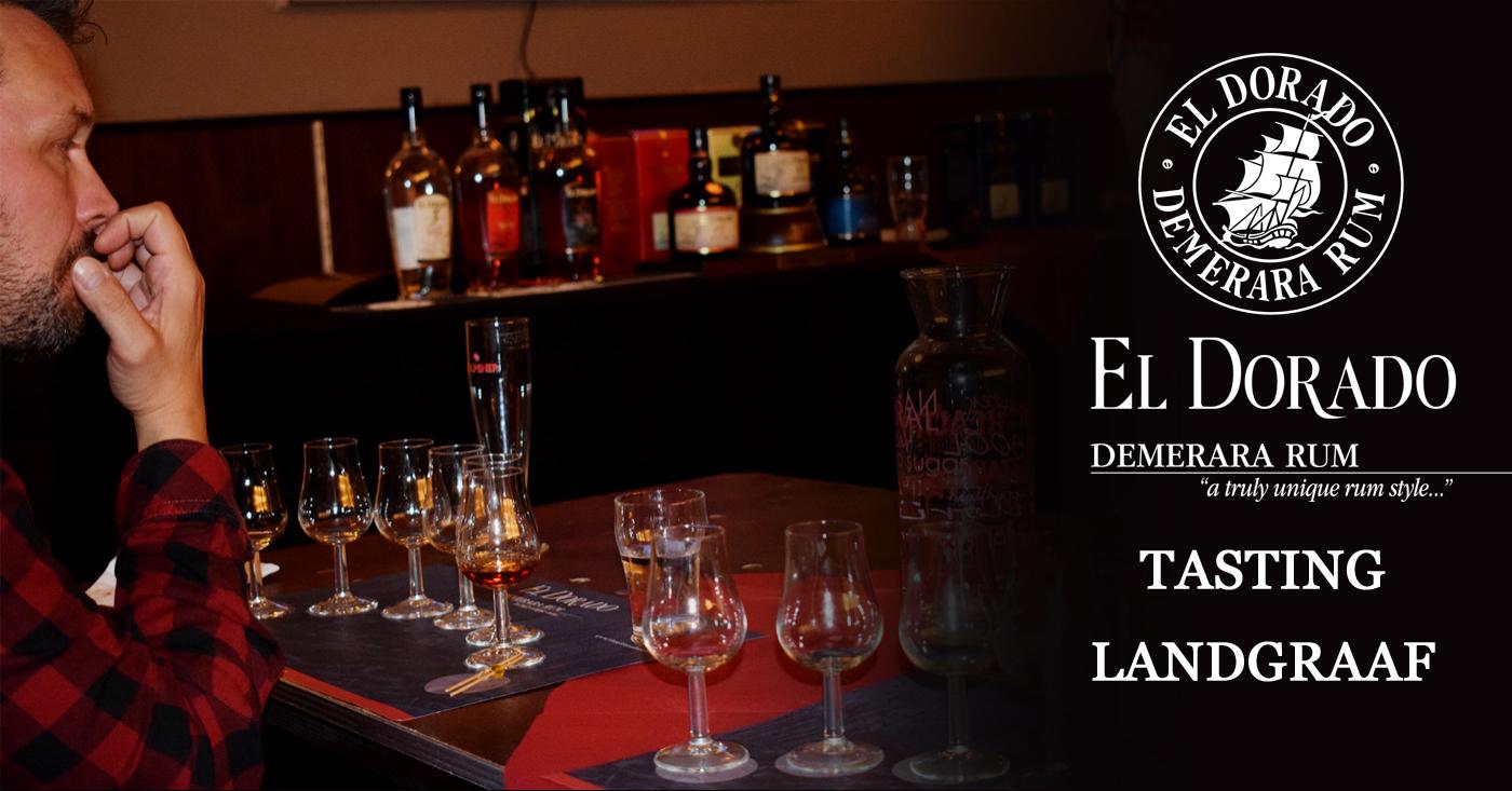 Landgraaf onder de indruk van de verschillende stijlen El Dorado Rum