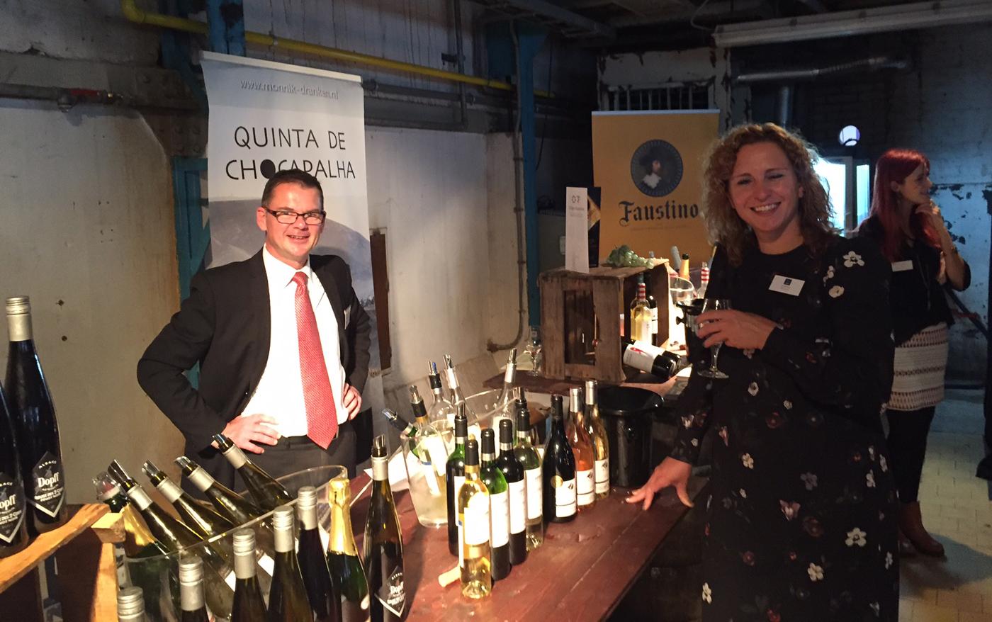 Mitra Ondernemersdag 2017 wijnstand Portugees wijnhuis Quinta de Chocapalha