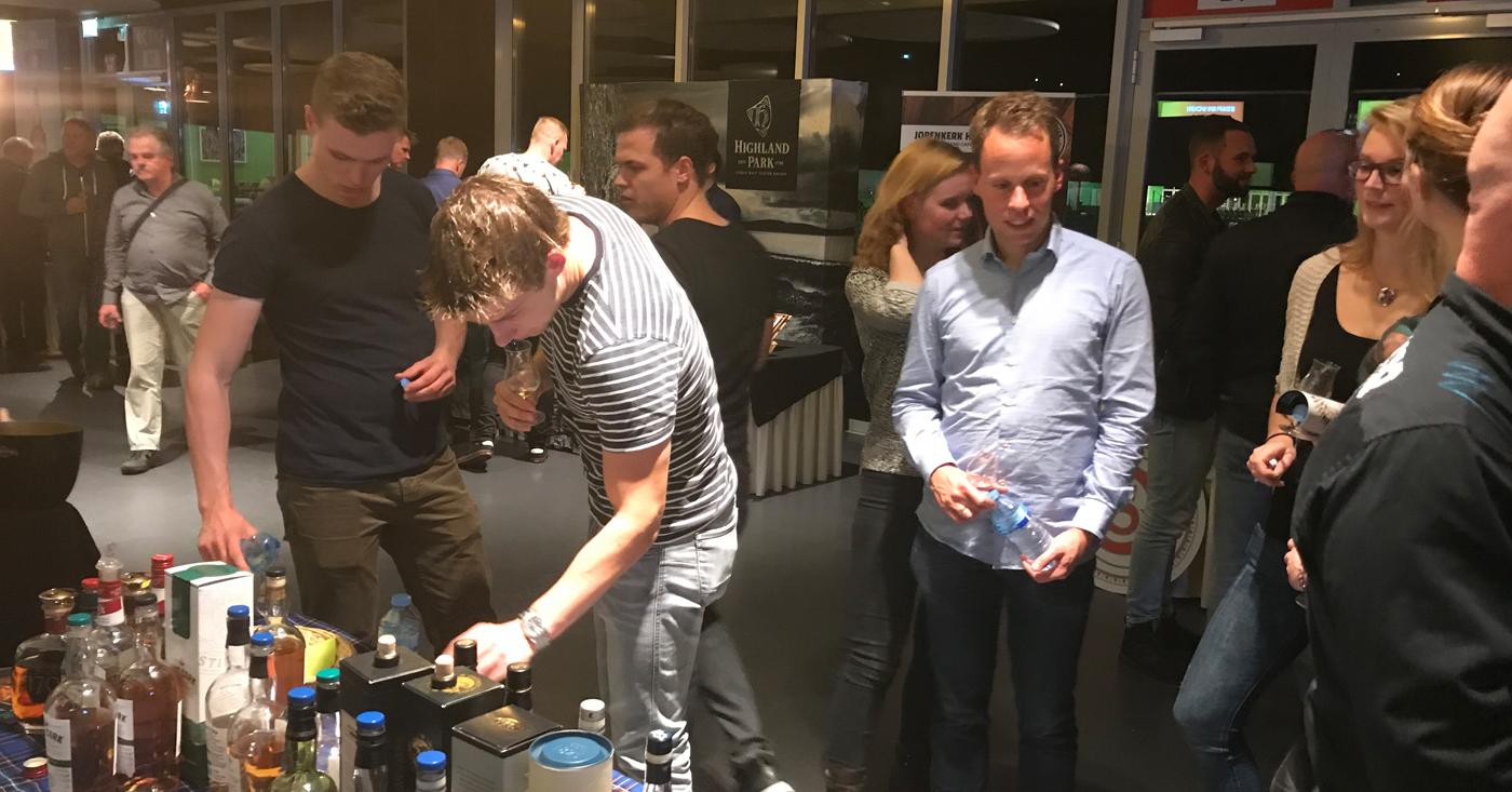 Mooie masterclass met whisky's van Loch Lomond tijdens Mitra WX in Groningen