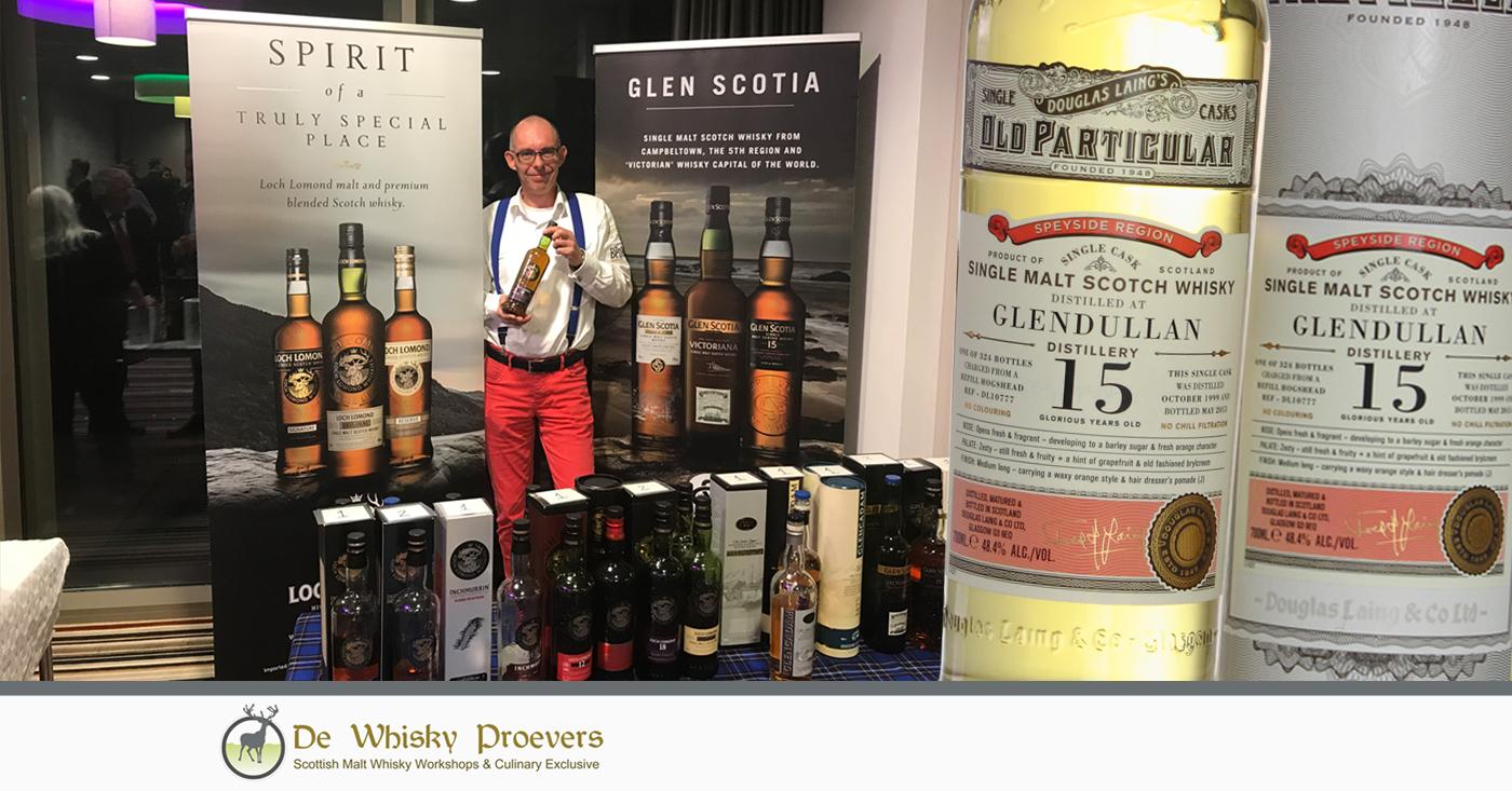 Old Particular serie Douglas Laing valt in de smaak tijdens whisky event van De Whisky Proevers
