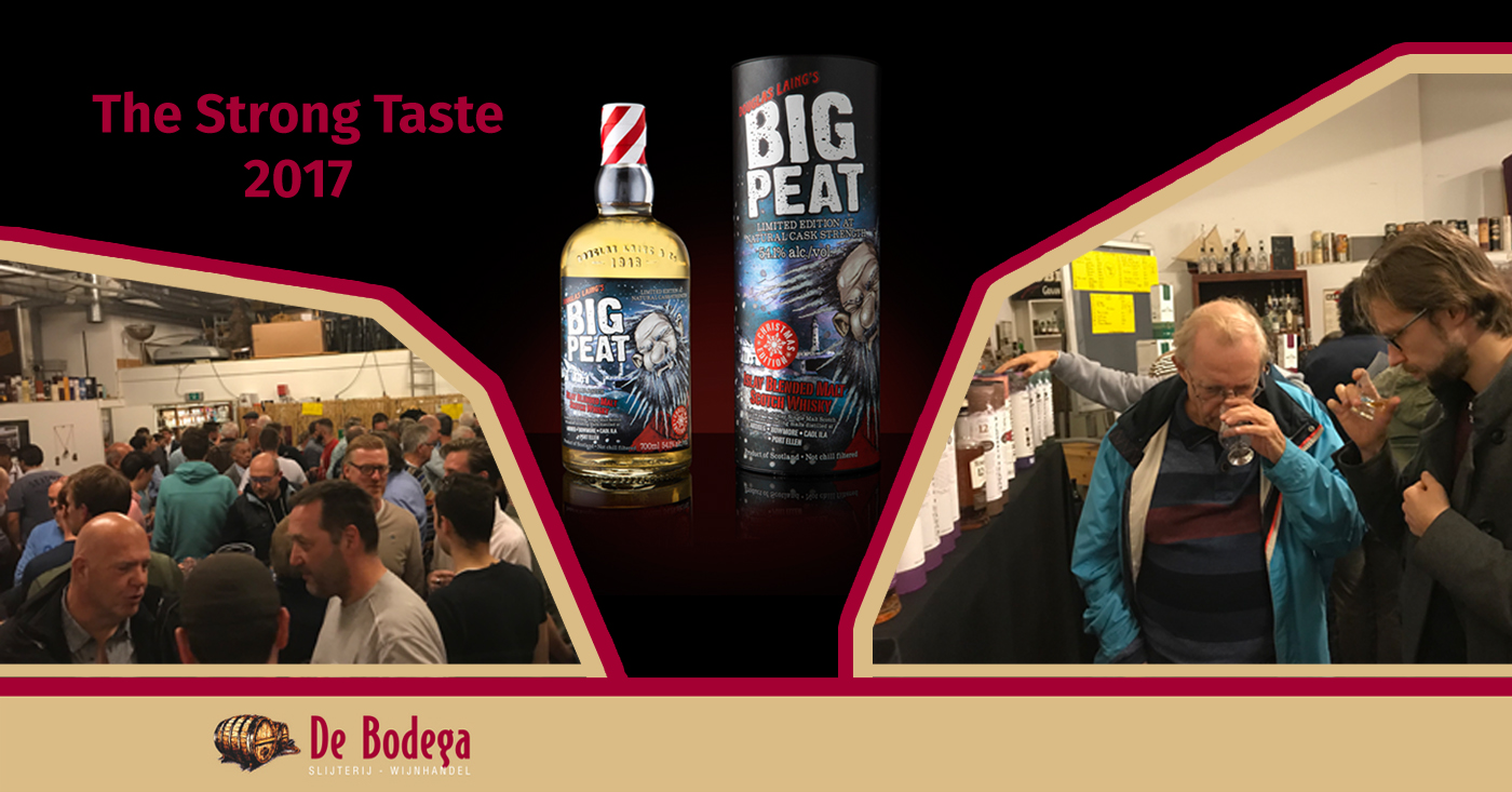 Primeur voor Big Peat Christmas Edition 2017 op The Strong Taste in Capelle aan den IJssel