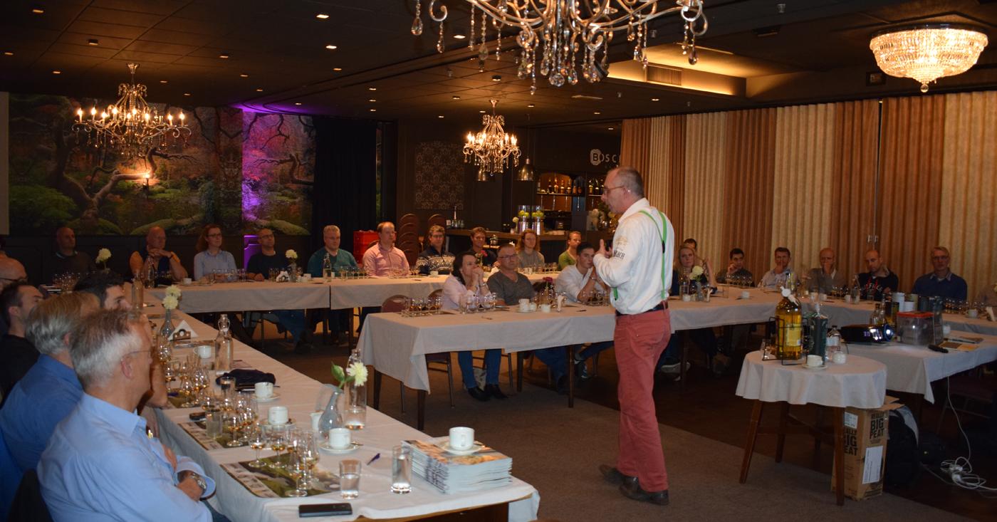 Provenance Benrinnes 8 YO wordt gewaardeerd op whiskyproeverij Mitra Ter Burg uit Scherpenzeel