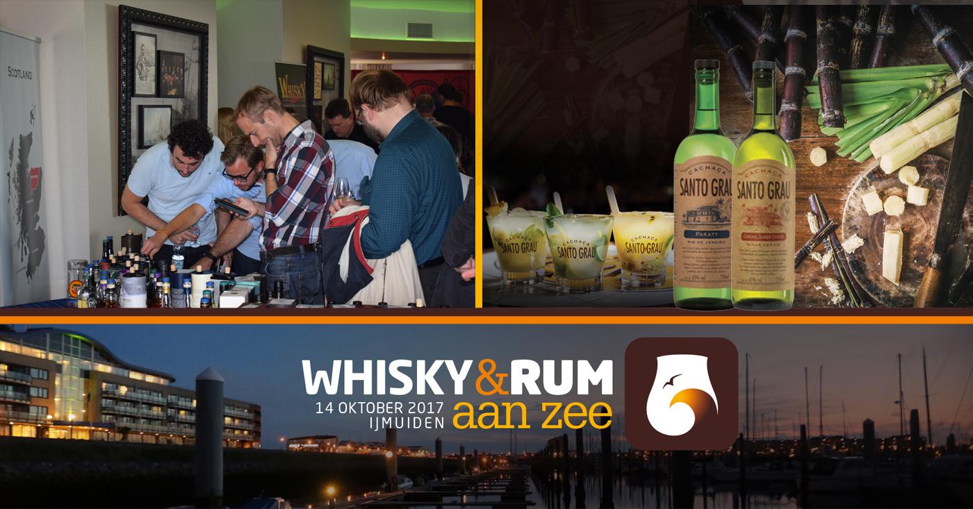 Santo Grau Cachaça als grote verrassing op 11e editie van Whisky & Rum aan Zee in IJmuiden