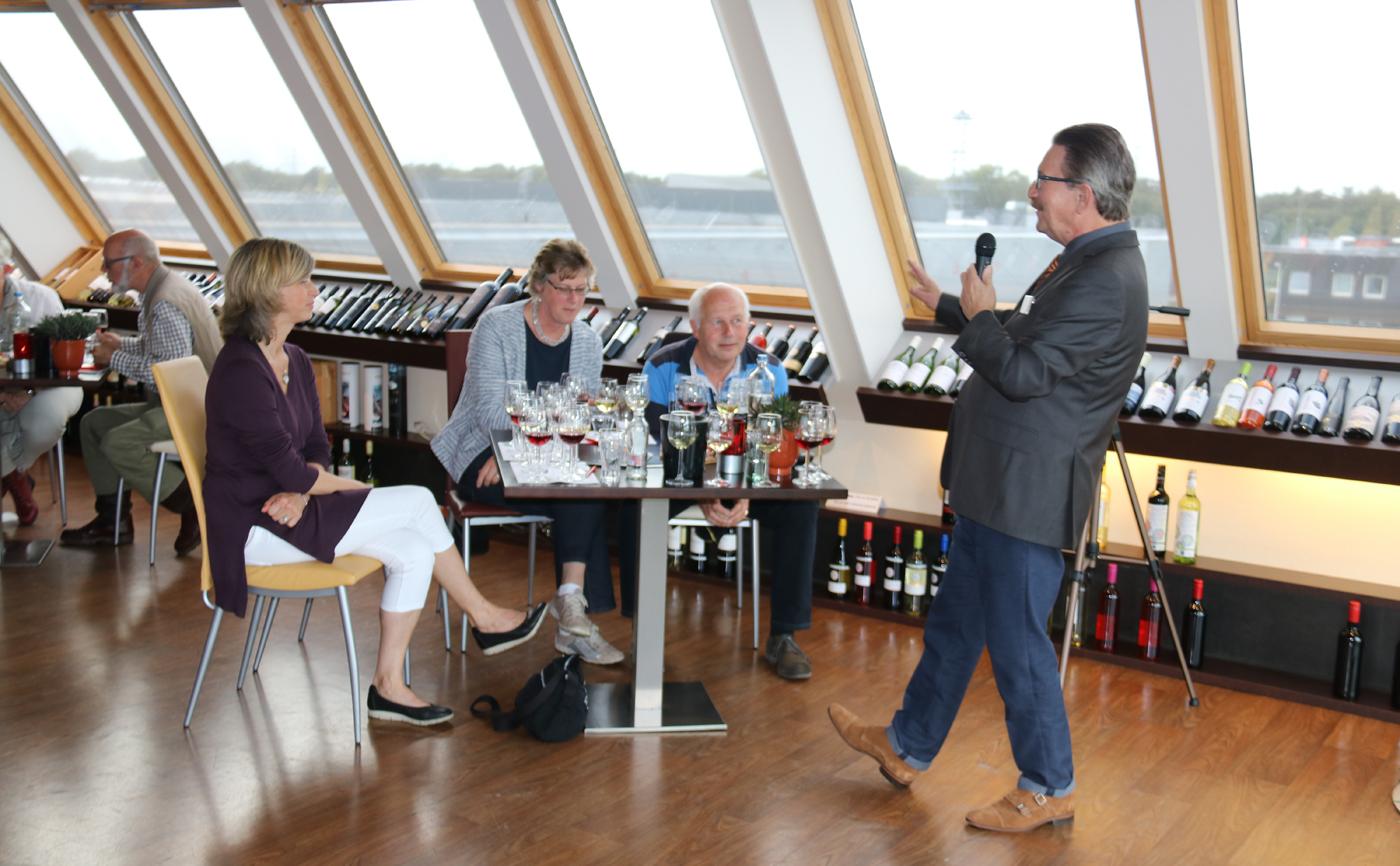 Ventisquero Masterclass Robert Handjes tijdens topSlijterdag in Oldenzaal