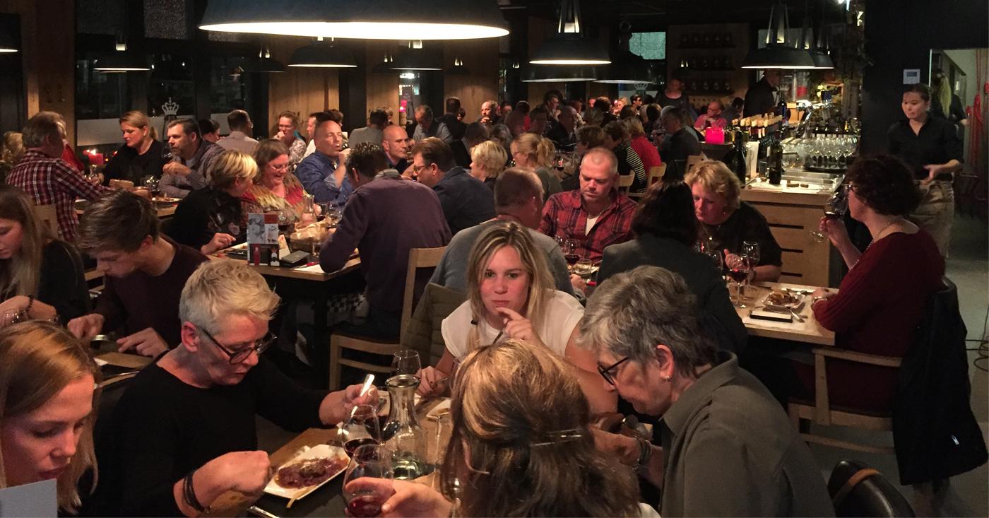 Wijn & Spijs avond in Oud Gastel voor herhaling vatbaar