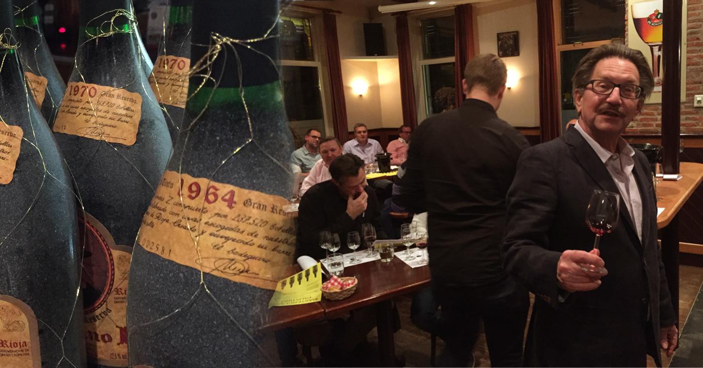 50 jaar oude Faustino I Gran Reserva op drukbezochte wijnproeverij van De Literslijter