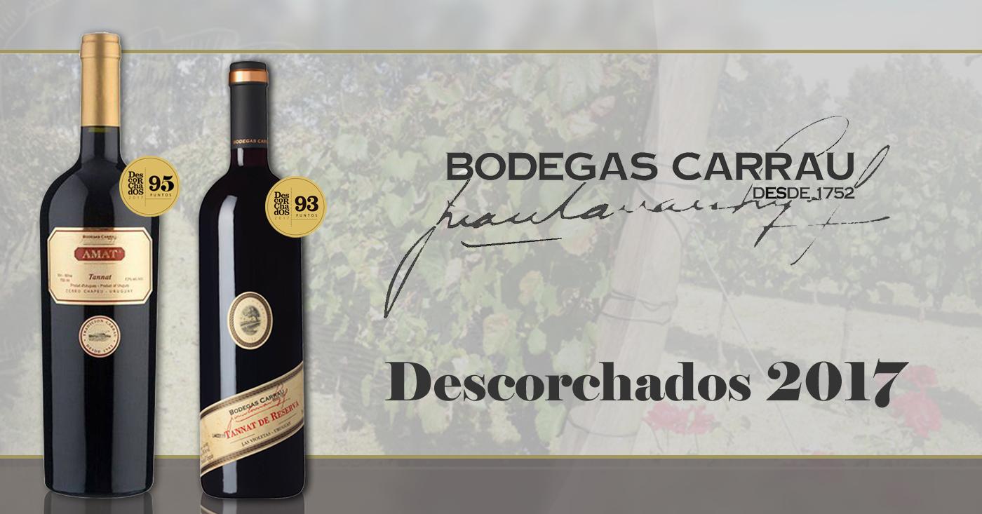 Amat Tannat 2011 van Bodegas Carrau verkozen tot beste Tannat van Uruguay