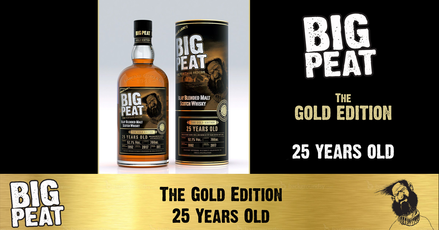 Big Peat 'The Gold Edition' 25 Years Old Islay Whisky