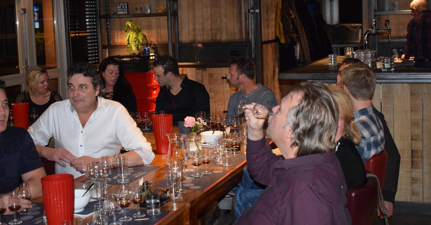 El Dorado 21 YO mooie afsluiter van geslaagde rum tasting bij café Bij Thijs in Leimuiden
