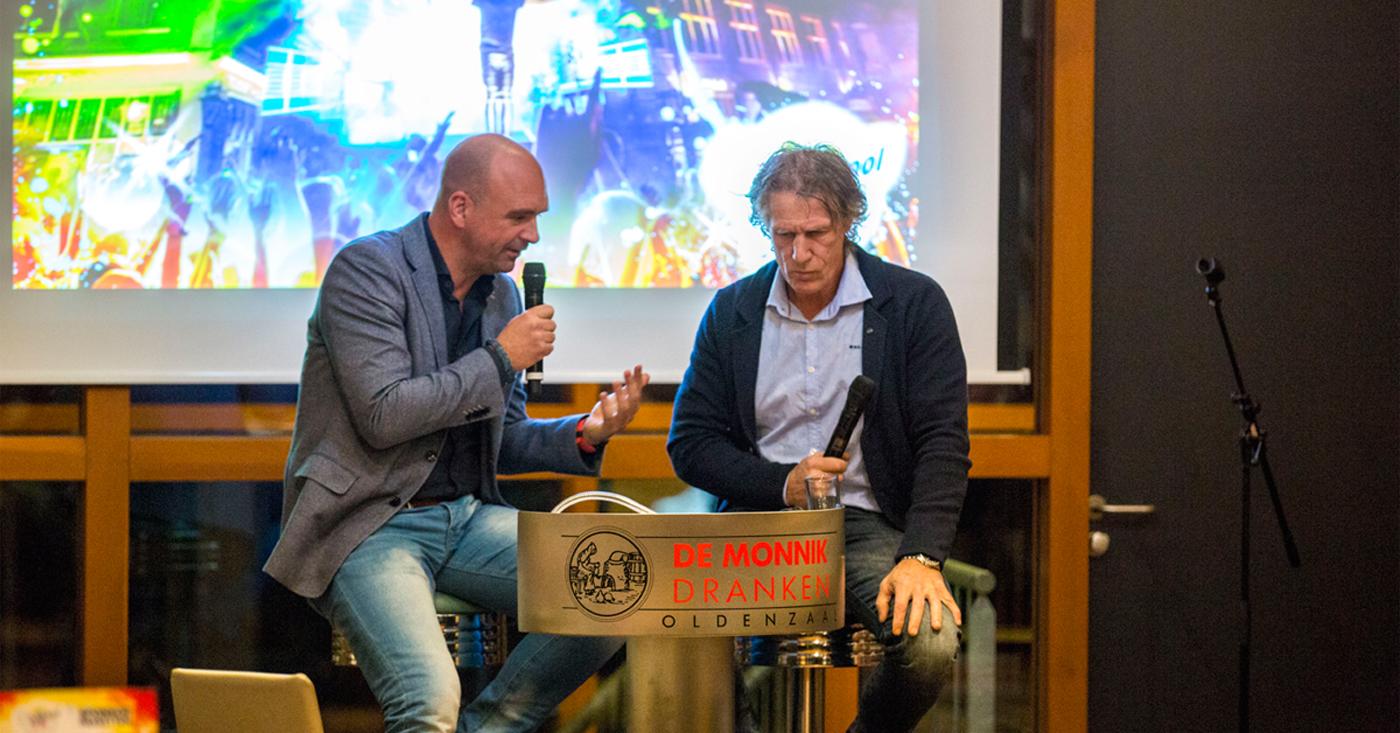 Gertjan Verbeek als gastspreker op sponsoravond Vrienden van de Boeskool bij De Monnik Dranken
