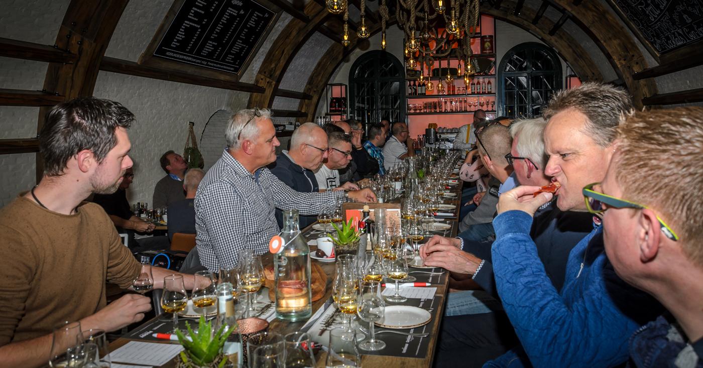Glen Scotia voelt zich thuis op whiskyproeverij in Fort Lunet
