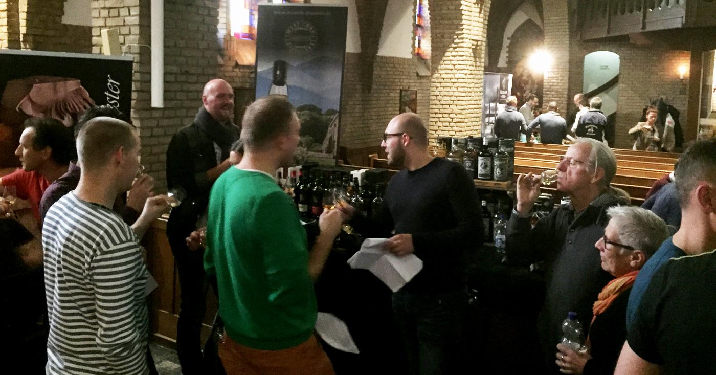 Inchmoan 12 YO Single Malt Peated omarmd als festivaltopper door het publiek bij Whiskyfestival Breukers te Boekelo