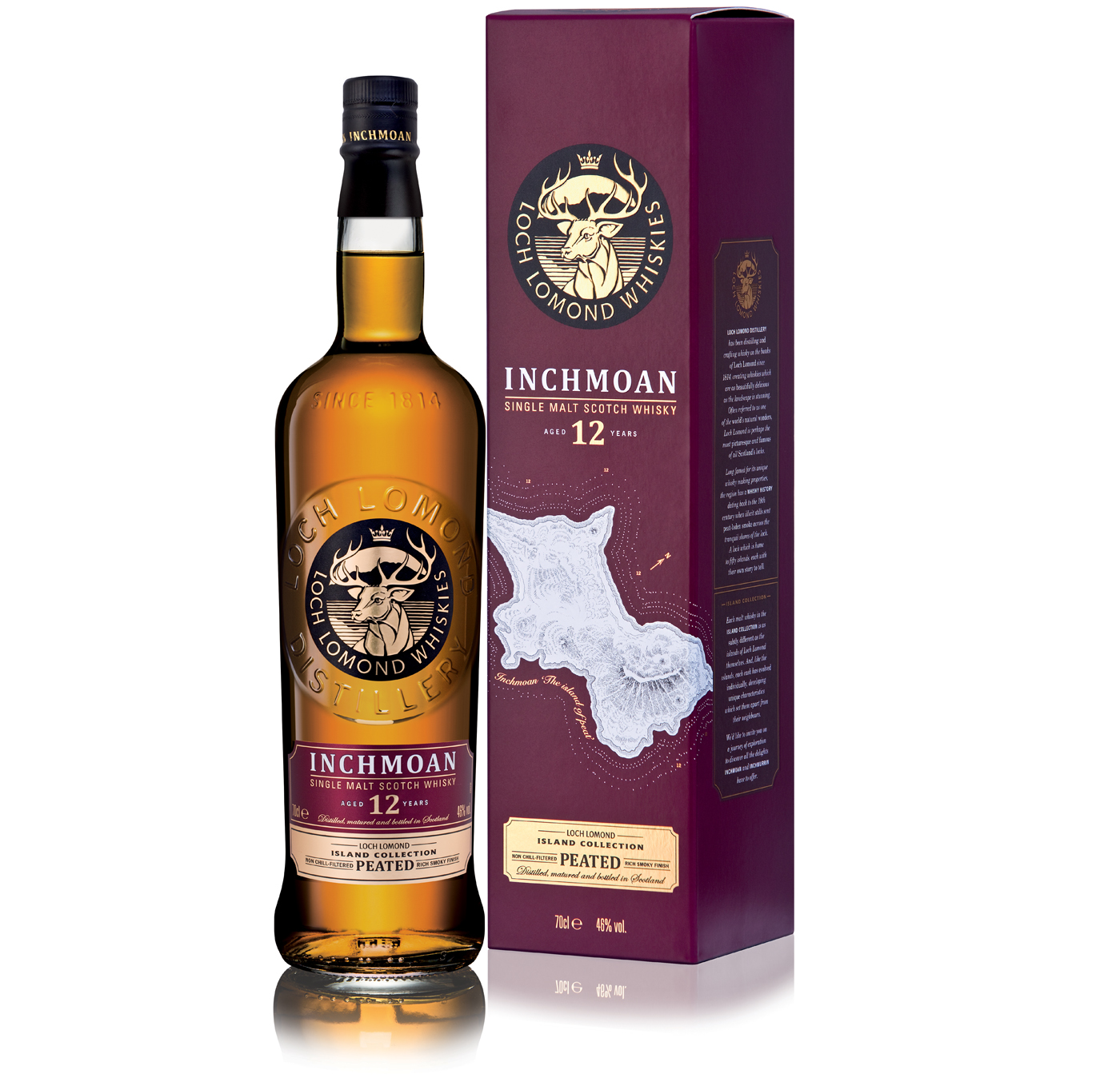 Inchmoan 12 Years Old Single Malt Peated