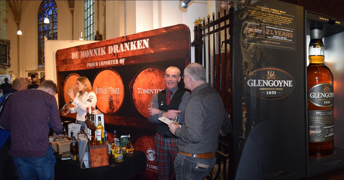 International Whisky Festival Den Haag 2017 groot succes voor De Monnik Dranken