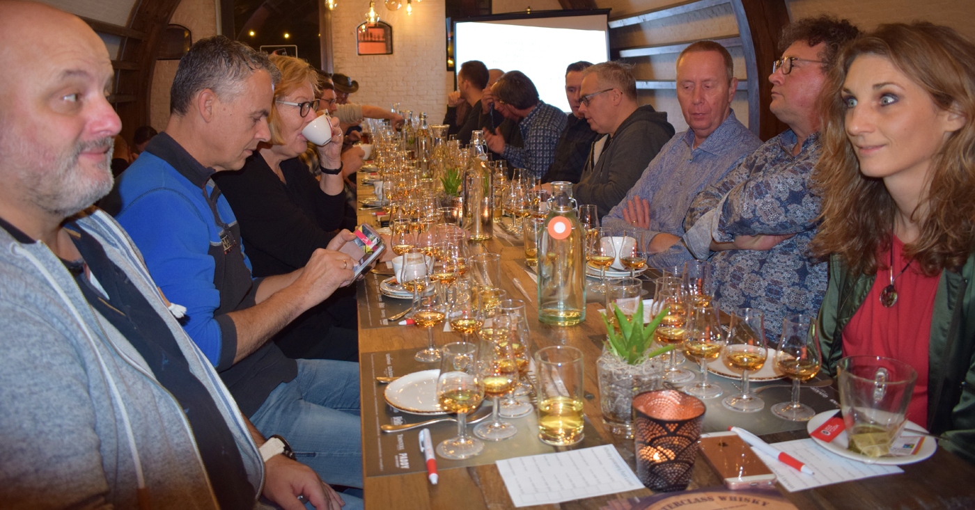 Op sherry vaten gerijpte whisky van Tamdhu kan bezoekers Nosing & Tasting Fort Lunet bekoren
