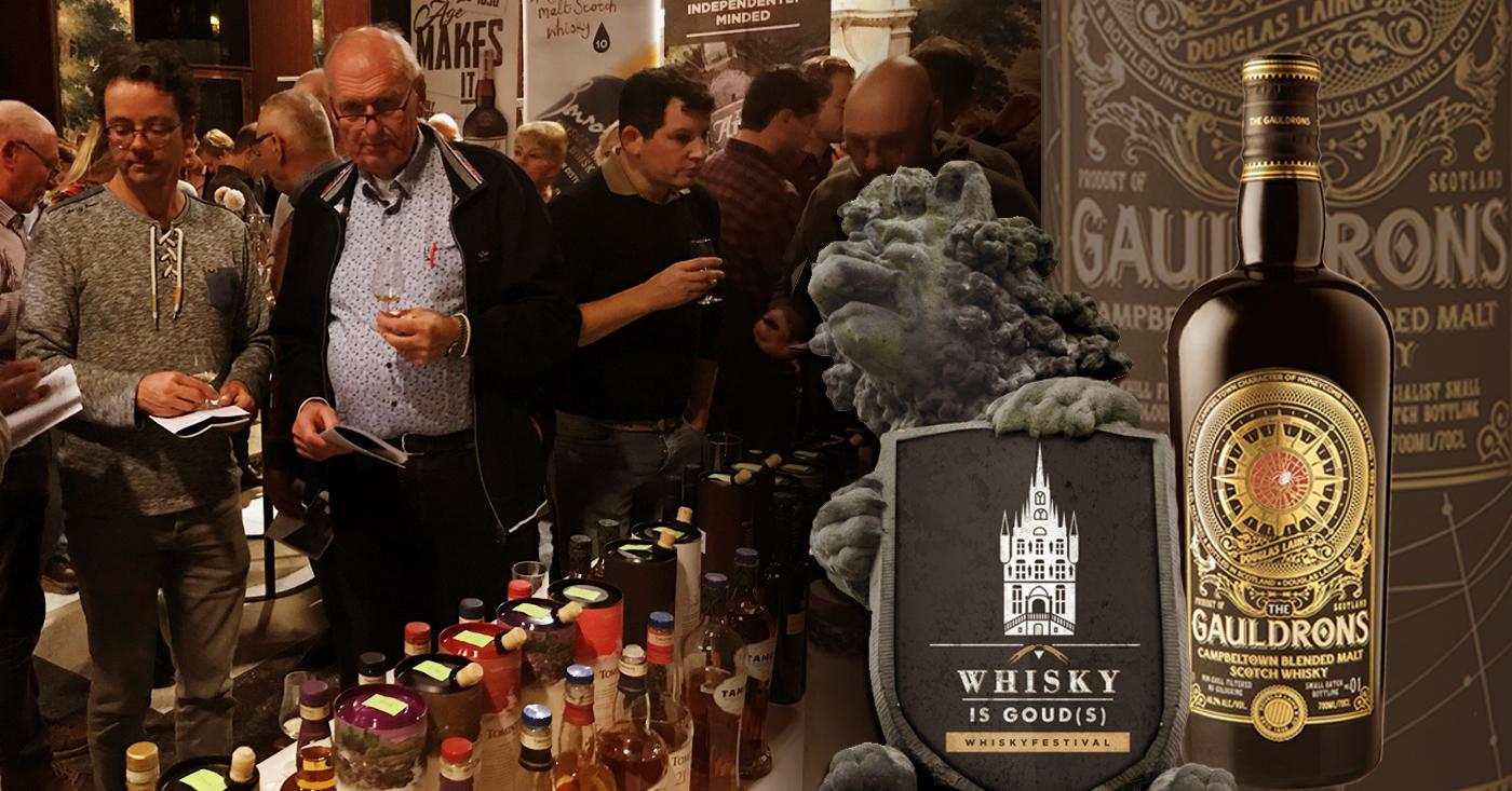 The Gauldrons met open armen ontvangen op 4e editie Het Goudse Whiskyfestival