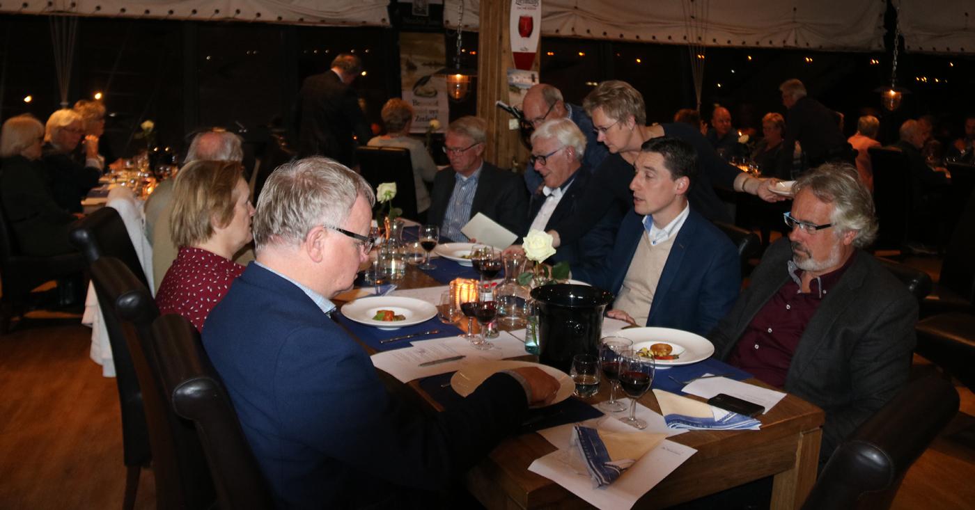Wijn & Spijs avond met wijnen van Lorgeril en Andeluna Cellars bij restaurant De Zeemeeuw in Stellendam