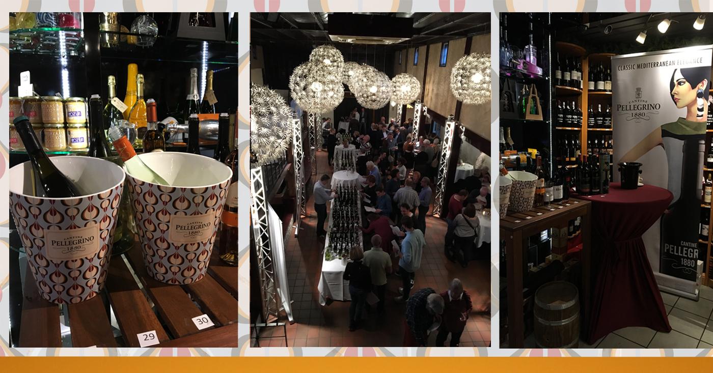 Wijnen Cantine Pellegrino op bezoek in Bourgondisch Brabant