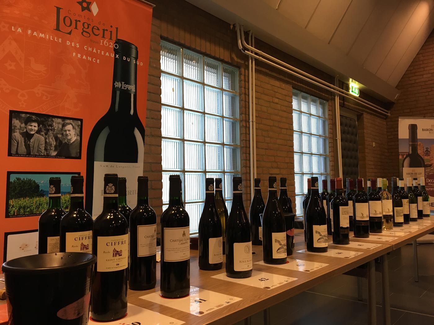 Wijnen Lorgeril Alvis Drift en Vina Ventisquero wijnproeverij in Den Hoorn
