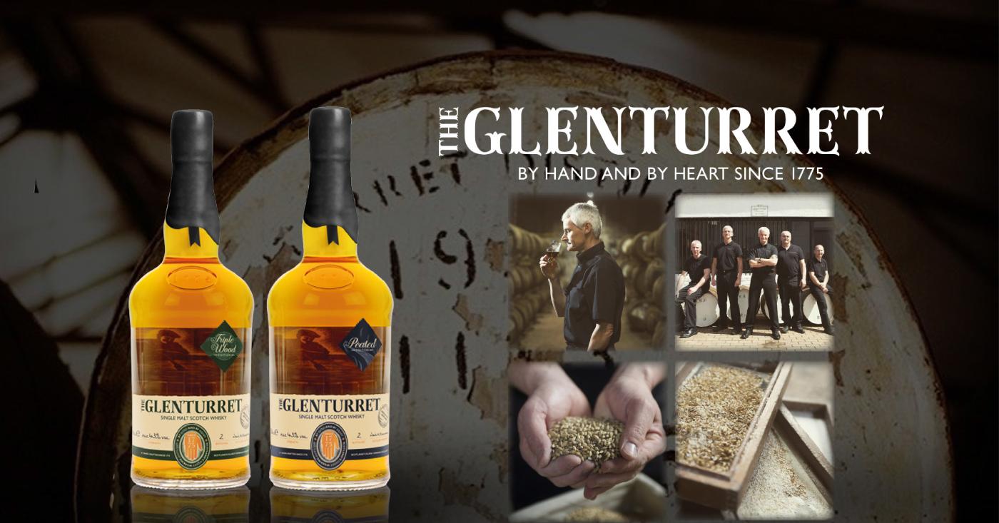 Whisky's van Glenturret vallen in de smaak bij Whisky Nosing & Tasting Drankenhandel Fred van den Heuvel in Giessenburg