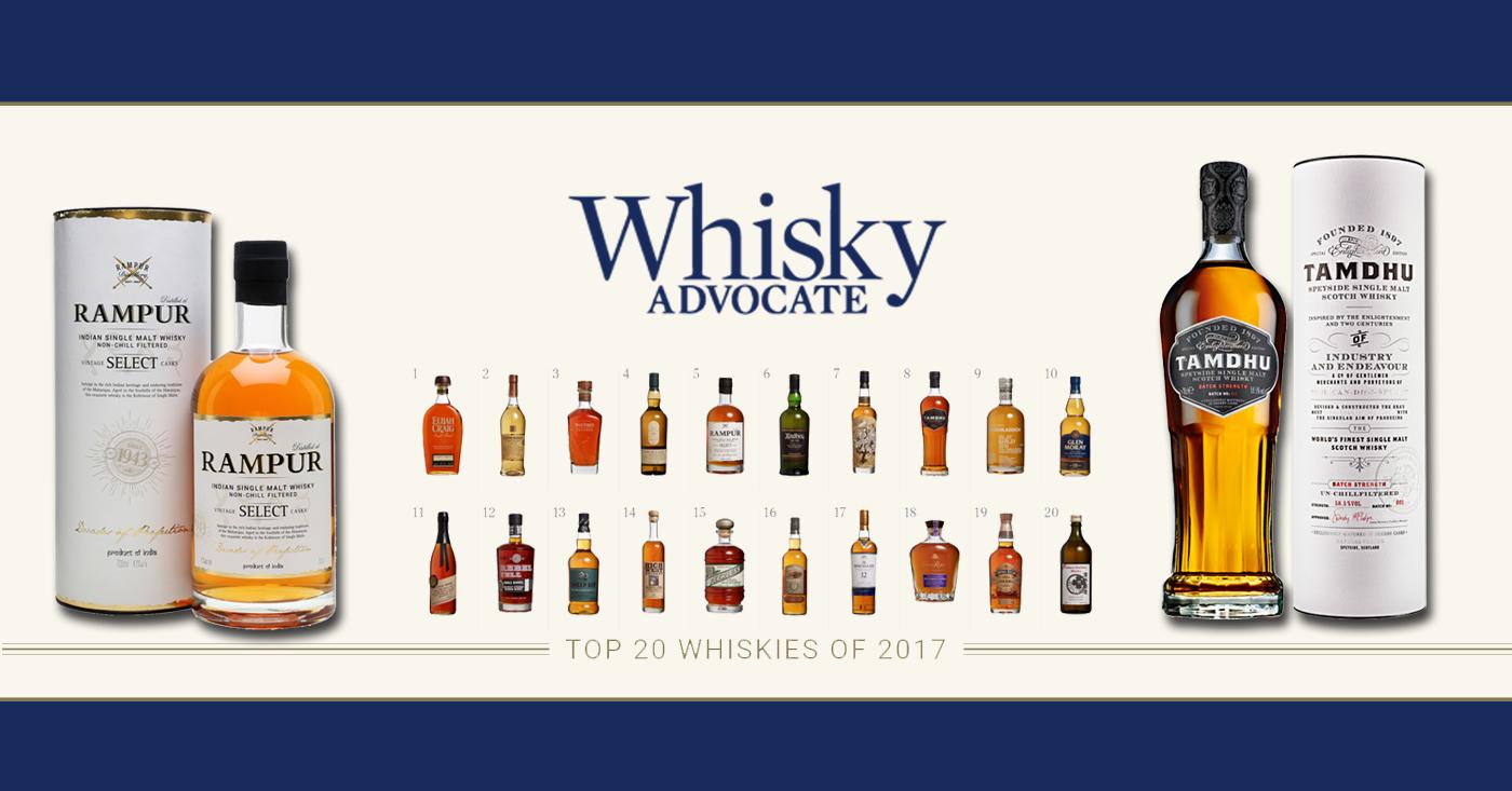 Maar liefst 2 eigen import whisky's in de top 20 van Whisky Advocate
