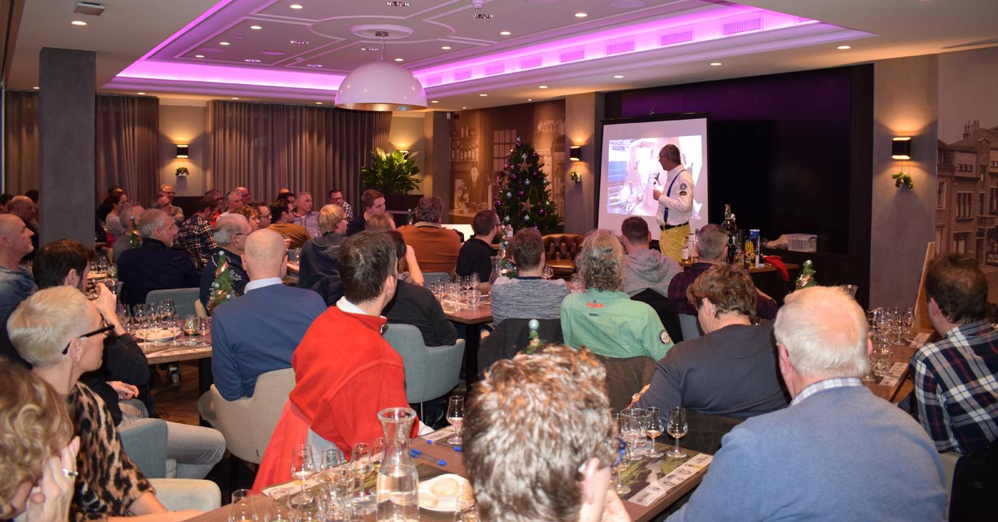 Primeur voor Rampur Indian Single Malt Whisky tijdens winterse Nosing & Tasting Wijnhuis Weert