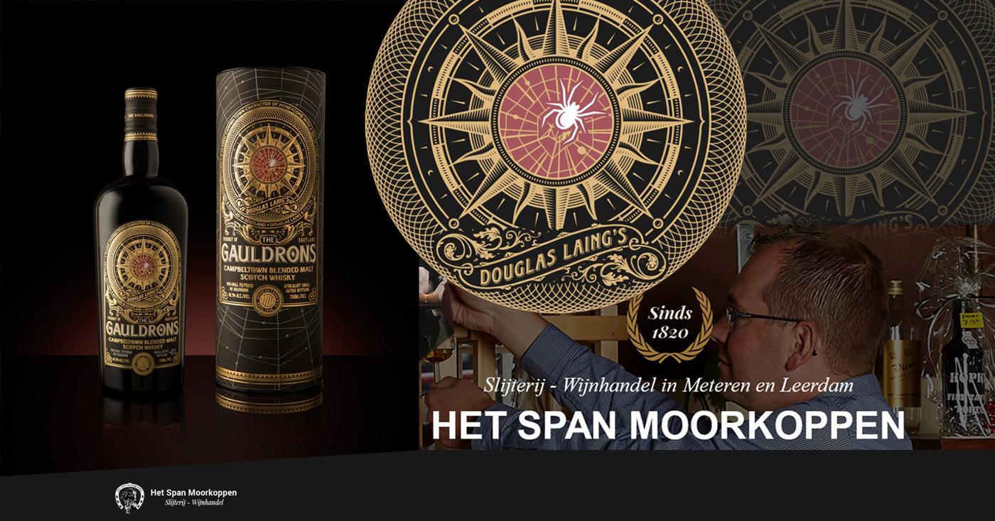 Stormachtige The Gauldrons favoriet bij whiskyliefhebbers in Leerdam