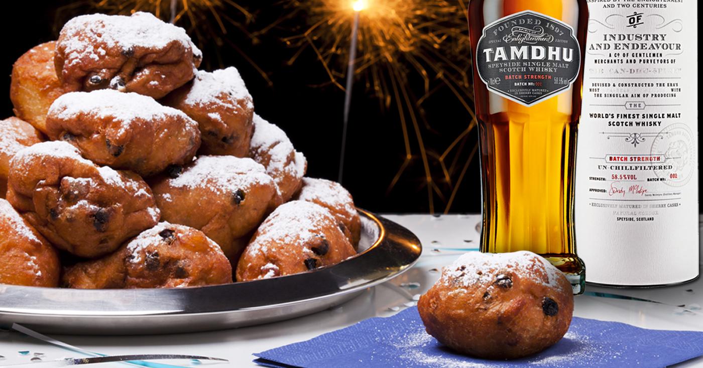 Tamdhu en tips voor oliebollen op whiskyproeverij in Klundert