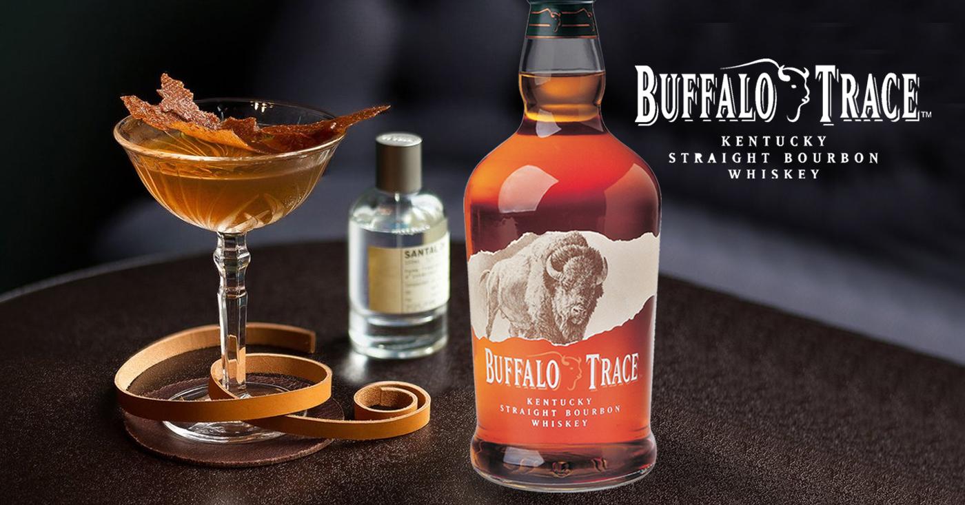 Fantastische Buffalo Trace Cocktail bij Pulitzer Hotel in Amsterdam