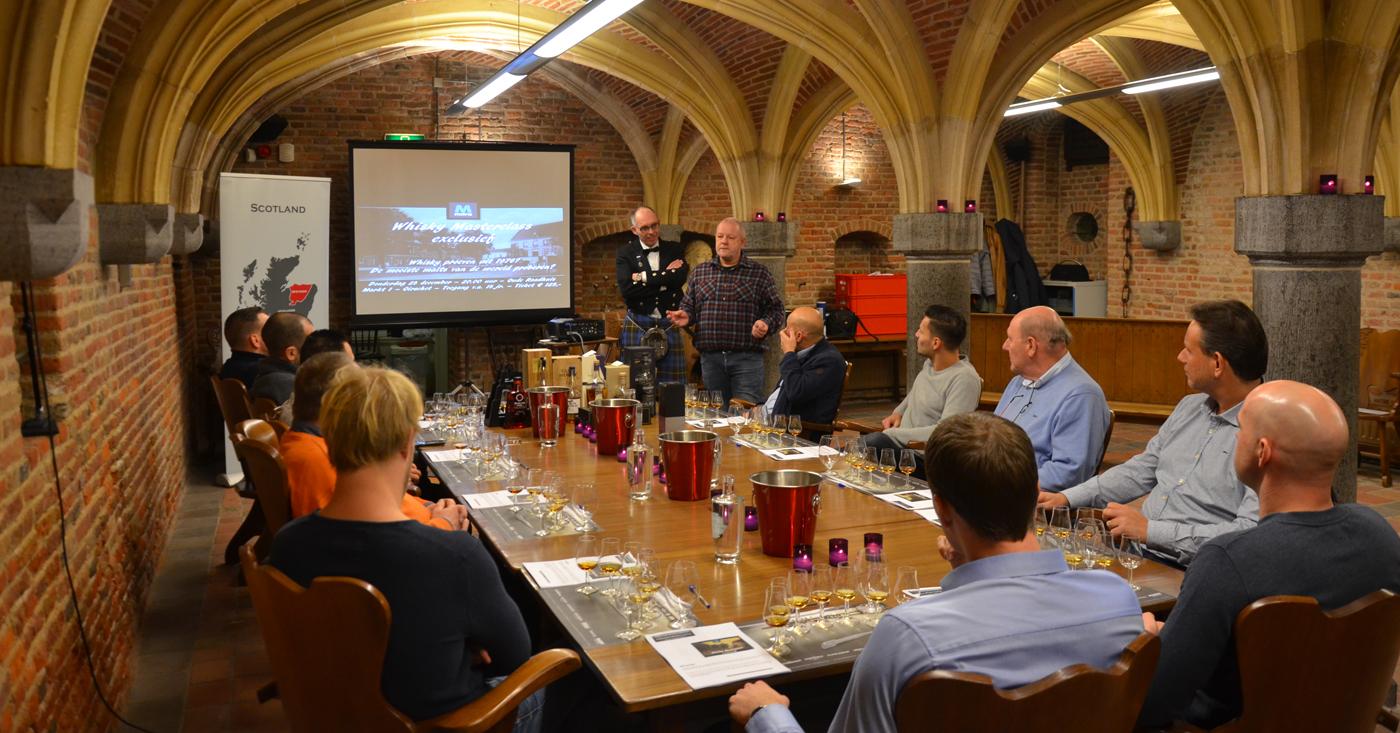 Glen Scotia 25 YO favoriet op 'Whisky Masterclass Exclusief' in Oirschot!