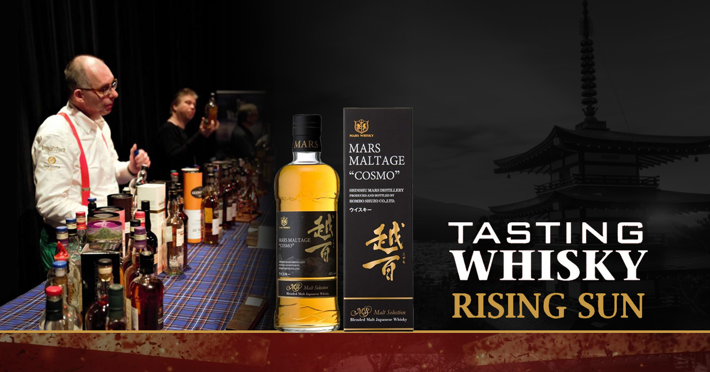 Tasting Whisky The Rising Sun in Stadstheater Zoetermeer