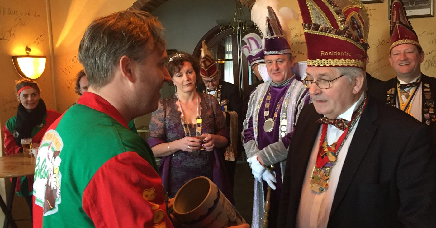 Bezoek Hoogheden bij De Monnik Dranken & Carnavalstour 2018