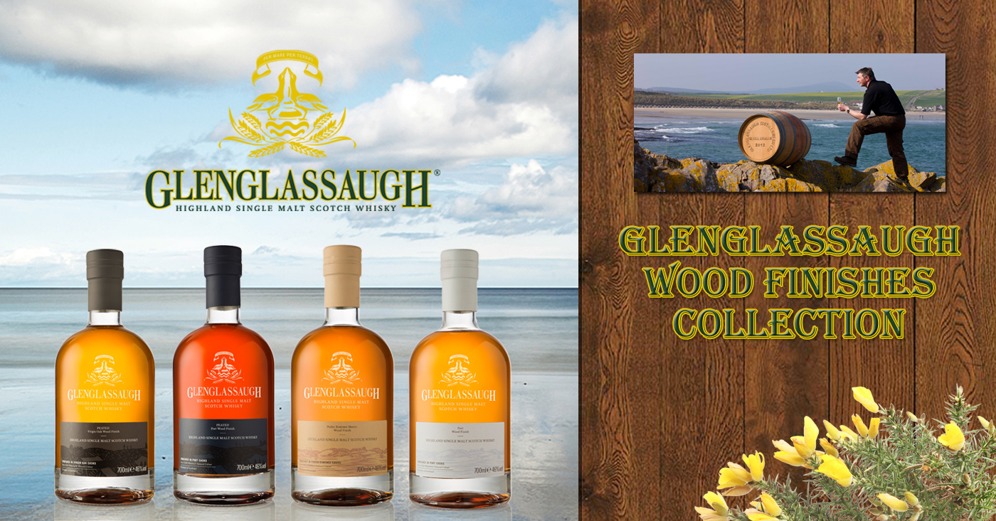 De Glenglasaugh Distillery introduceert de Wood Finishes Collection