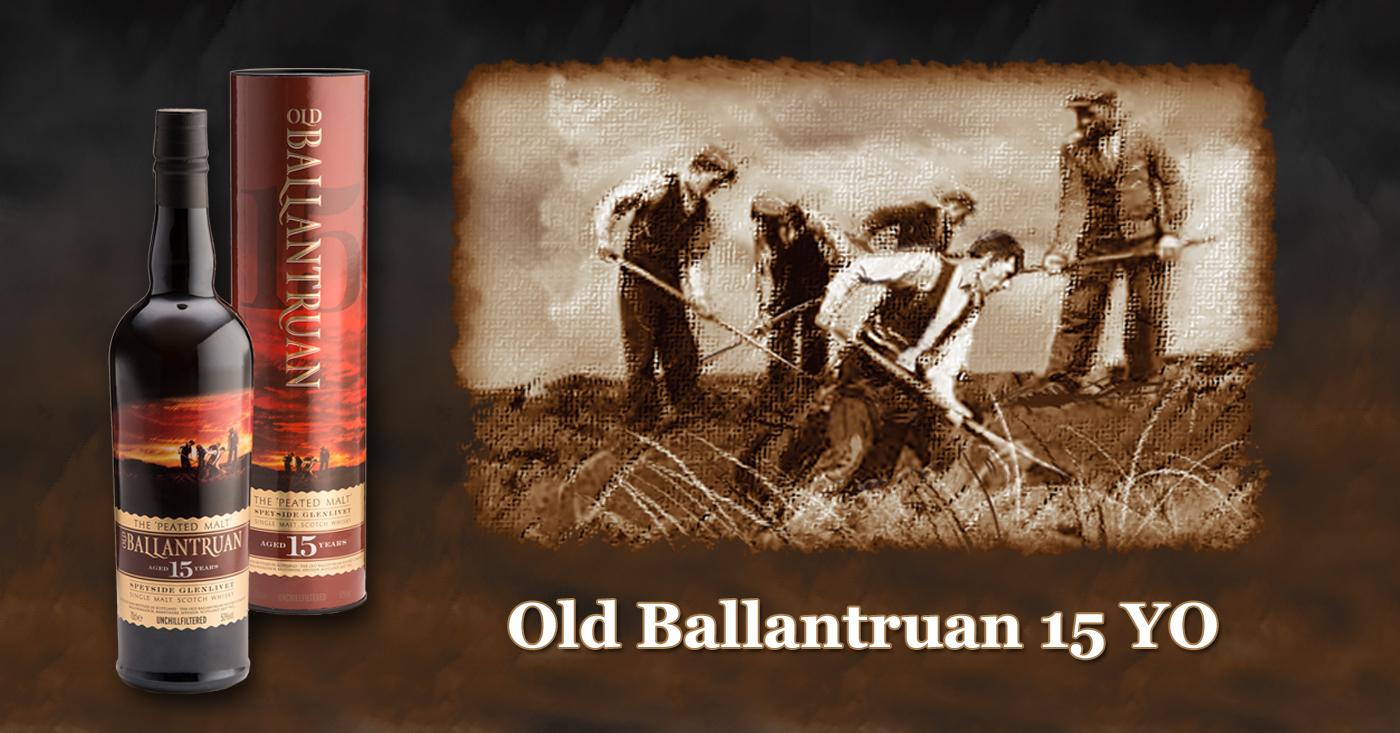 Angus Dundee Distillers introduceert de Old Ballantruan 15 Years Old