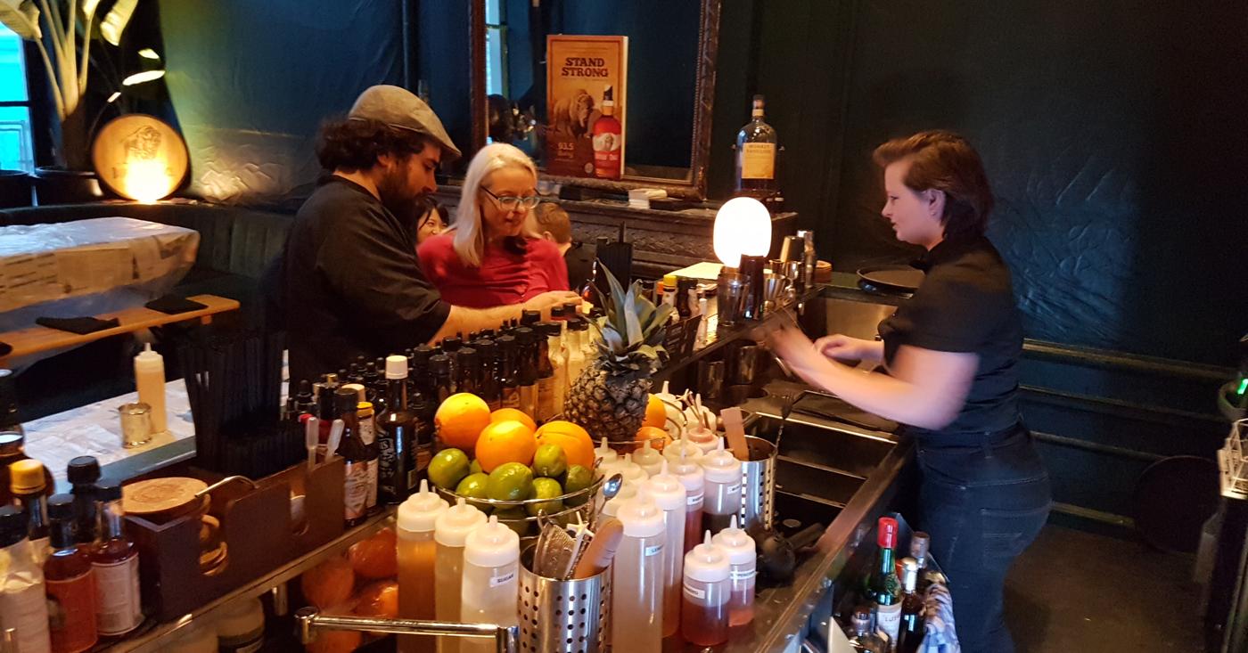 Buffalo Trace in het middelpunt van de belangstelling tijdens de Amsterdam Cocktail Week bij Flying Dutchmen Cocktails