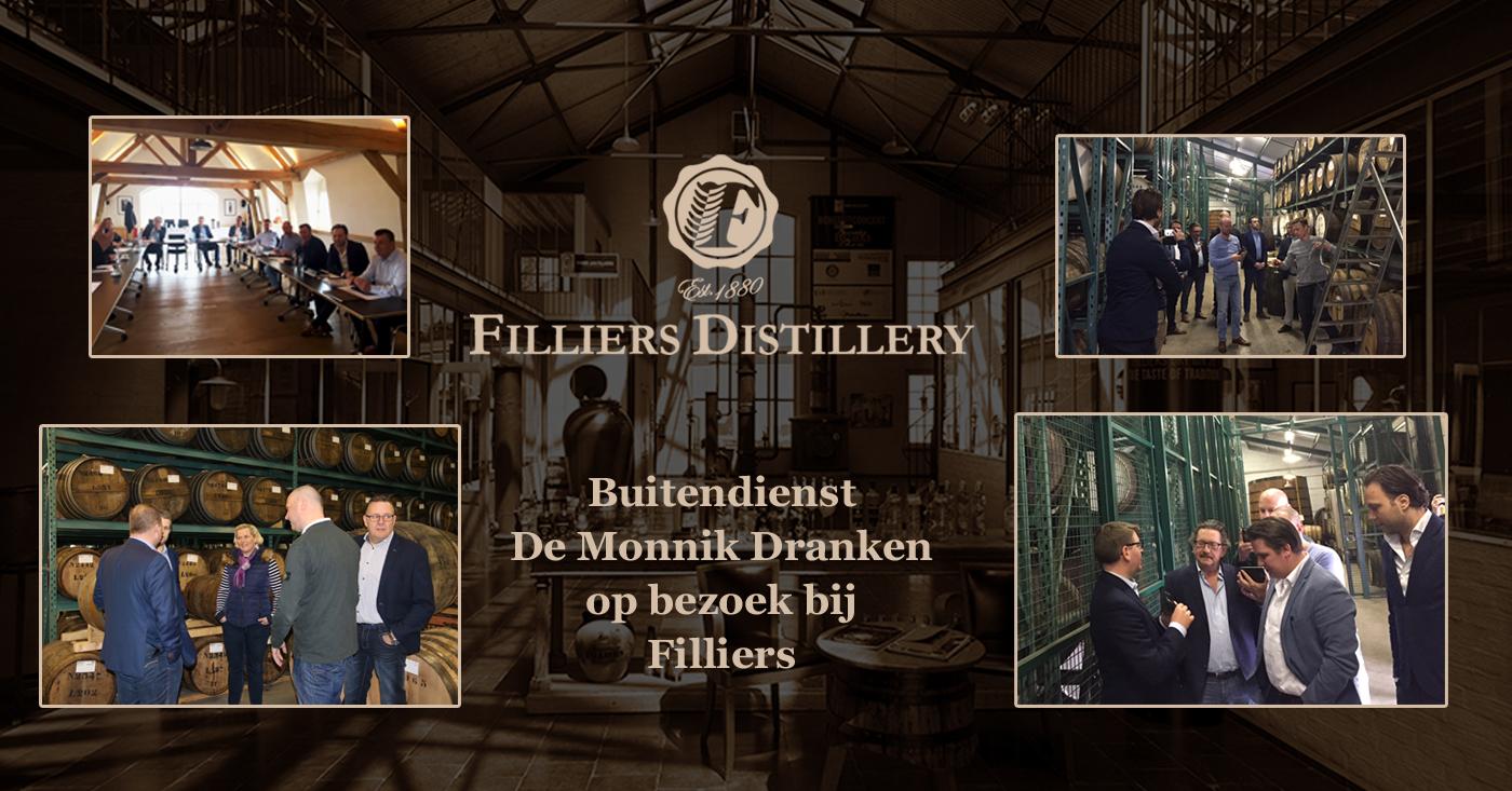 Bezoek aan en buitendienst vergadering bij Filliers Graanstokerij – Filliers Distillery