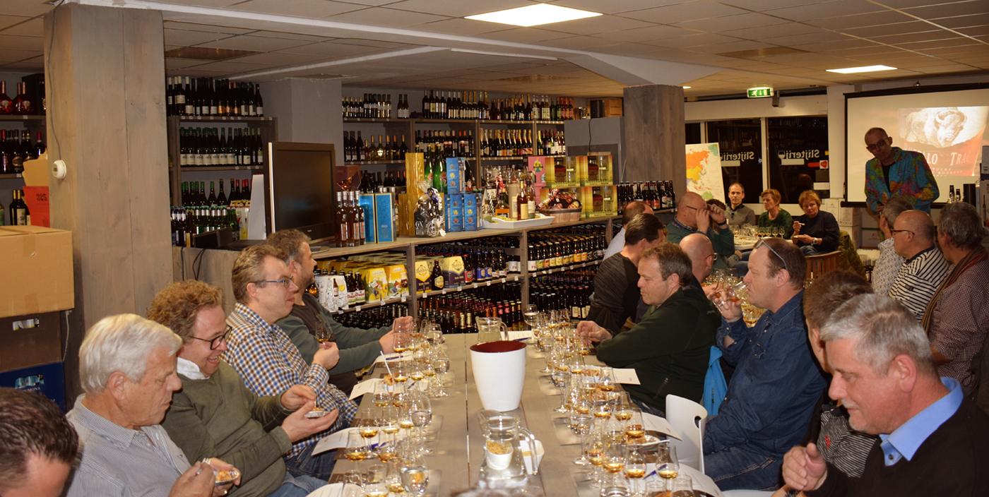 Bijzondere Goldlys 14 YO Burgundy Finish topper van de avond in Voorschoten