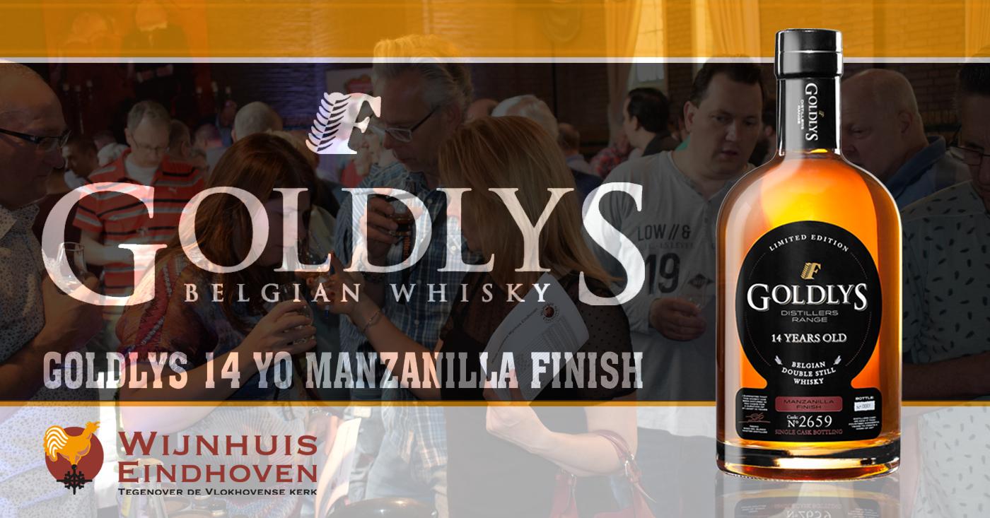 Goldlys 14 YO Manzanilla Finish maakt indruk op whiskyliefhebbers in Eindhoven