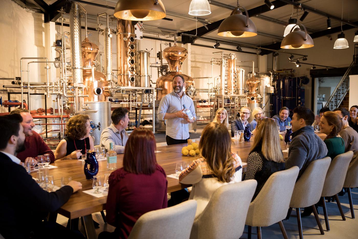 Relaunch van Hayman's Gin met een nieuwe range en een distilleerderij in Londen