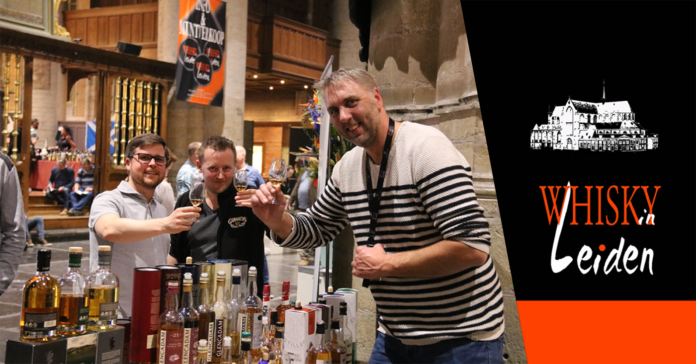 David McCallum van Loch Lomond sluit tasting week af met Whisky in Leiden