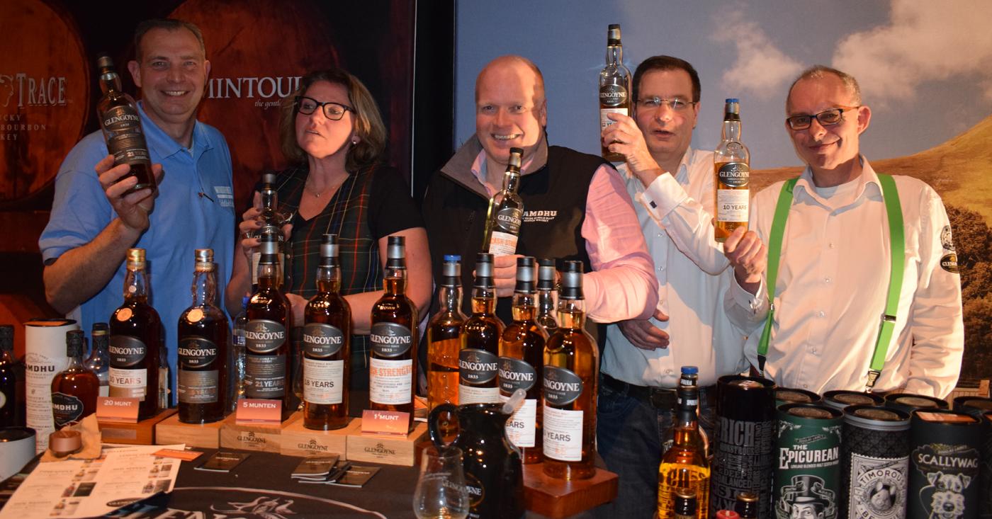 Mooie masterclass met Glengoyne whisky's op Whisky Event Woudenberg