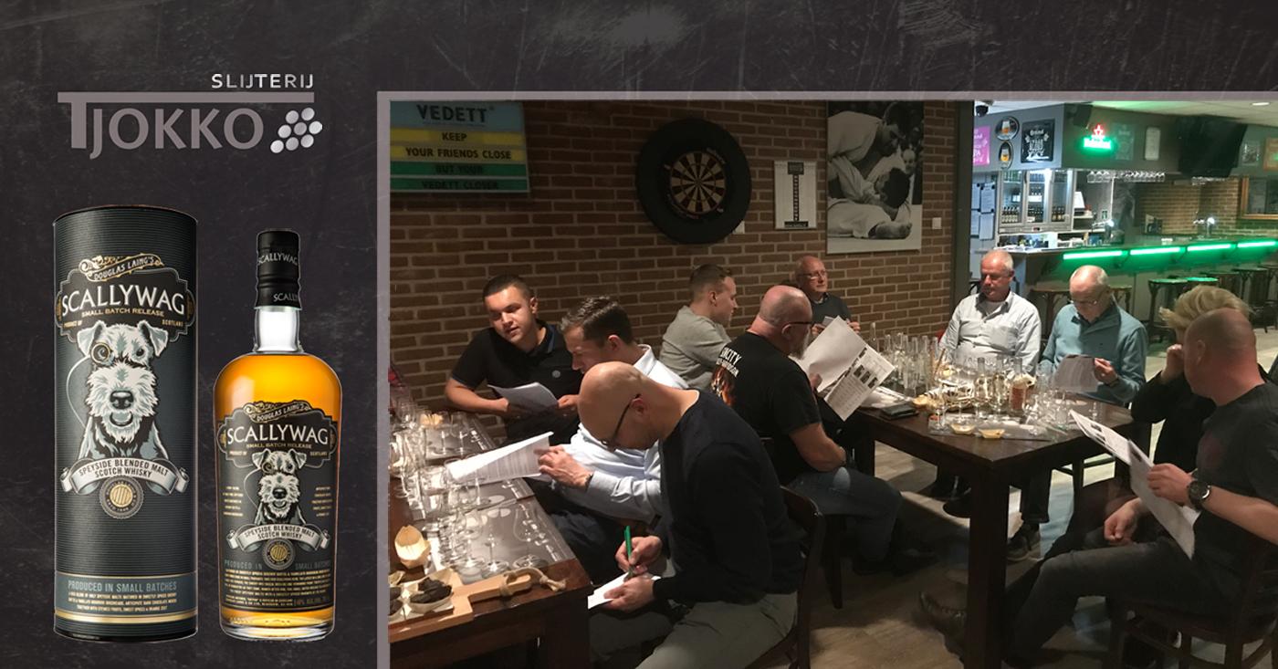Scallywag uit Speyside valt in de smaak op whisky tasting in Harmelen