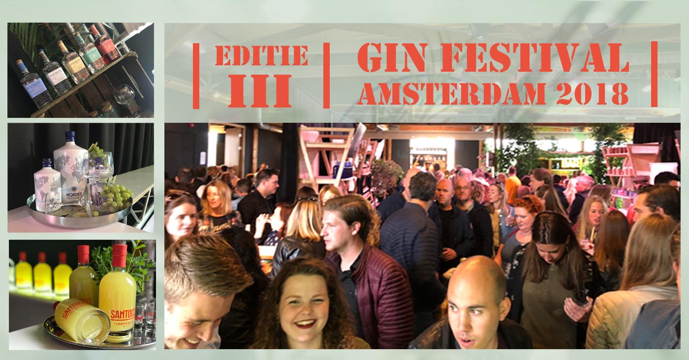 3e editie Gin Festival Amsterdam