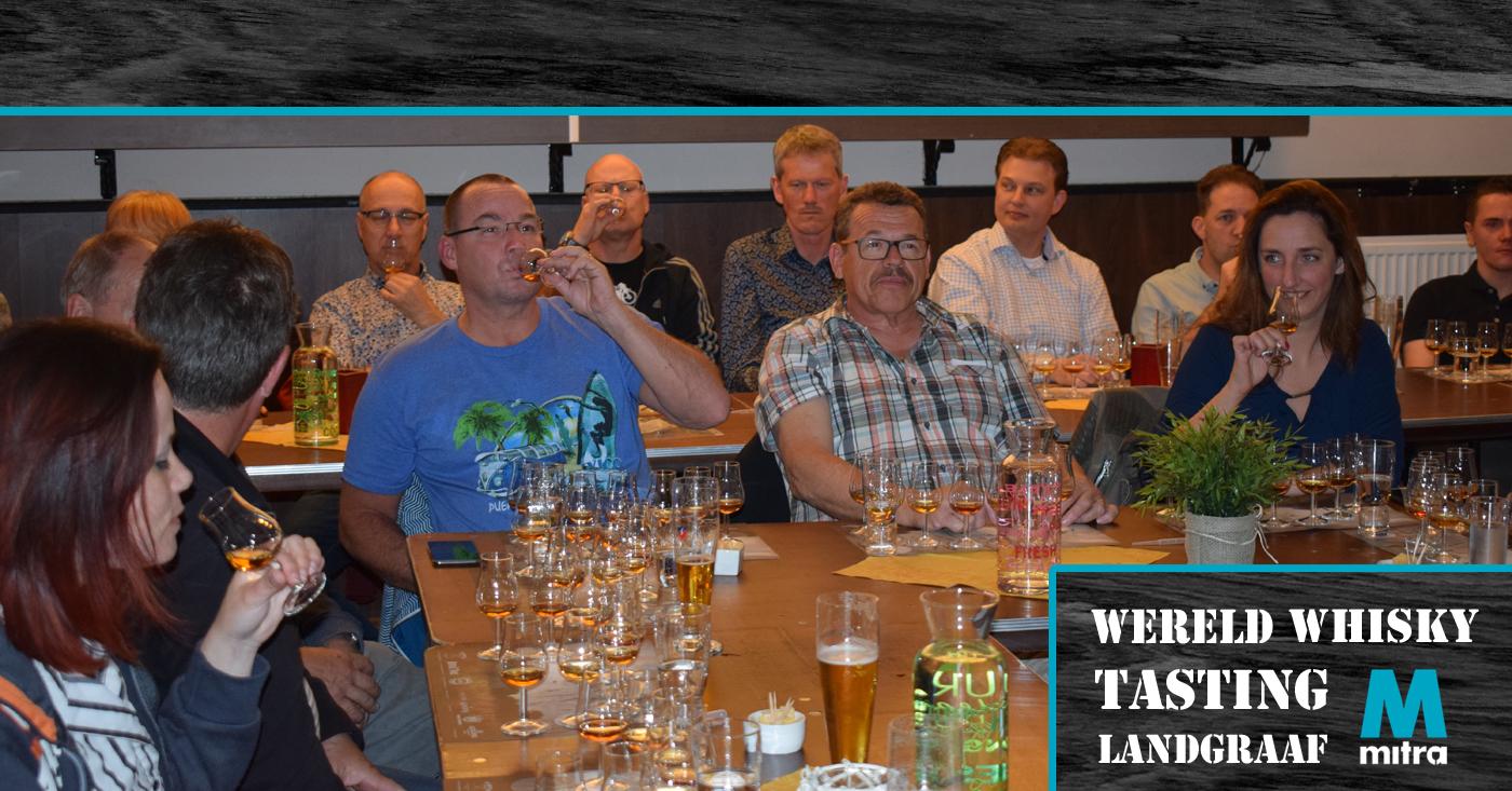 Buffalo Trace Bourbon valt in de smaak tijdens whisky tasting in Landgraaf