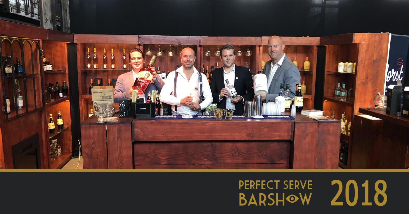 De Monnik Dranken met craft spirits prominent aanwezig op de lustrumeditie van de Perfect Serve Barshow Amsterdam