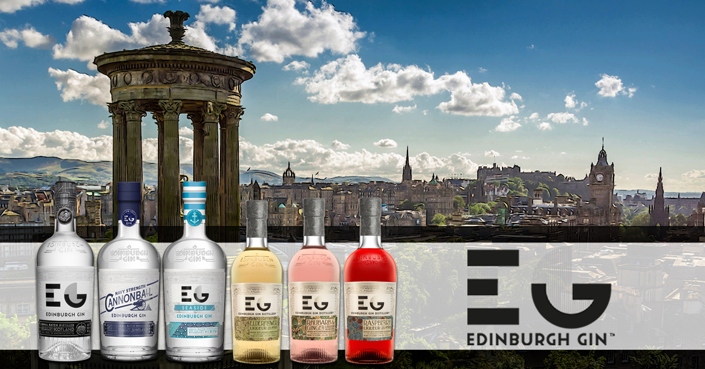 De Monnik Dranken trotse importeur van de bekroonde Edinburgh Gin
